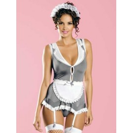 Sexy lingerie donna Obsessive, Housekeeper set governante sexy