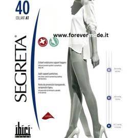 Collant donna Ibici Segreta 40 den, stimola la circolazione
