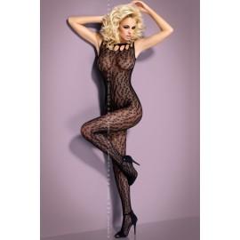 Sexy lingerie donna Obsessive, G306 Bodystocking rete maculata