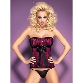 Sexy lingerie donna Obsessive, Rubines Corsetto effetto sensuale