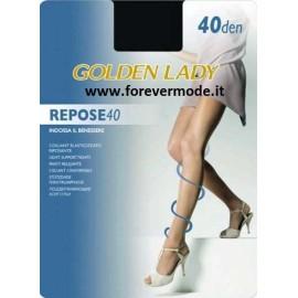 5 Collant donna Golden Lady Repose 40 elasticizzato e riposante
