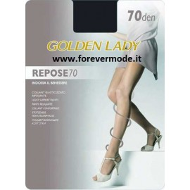 Collant donna Golden Lady Repose 70 elasticizzato e riposante