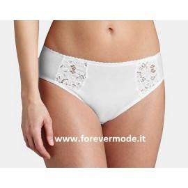 Slip donna Triumph Cotton Lace Comfort Maxi modellante leggero