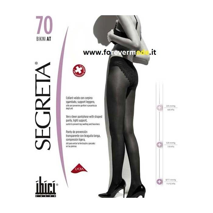Collant donna Ibici Segreta 70 Bikini per pesantezza e gonfiori