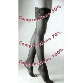 Autoreggente donna Elly 70 compressione media mmHg 13/17