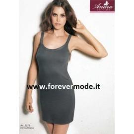 Sottoveste donna Andra Lingerie a spalla media in morbido cotone modal
