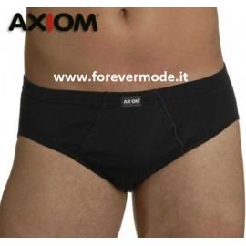 2 Slip uomo Axiom in cotone elasticizzato con elastico interno