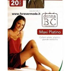 12 Collant Donna BC XXXL velati con doppio tassello,fronte retro