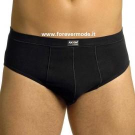 2 Slip uomo Axiom in cotone con elastico interno e logo cucito