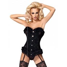 Sexy Lingerie donna Obsessive, Baletti corsetto con ricami
