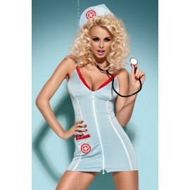 Sexy lingerie donna Obsessive, Doctor costume dottoressa sexy