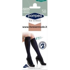 2 Gambaletti donna Pompea microfibra 50 coprente, polsino soft
