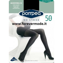 3 Collant donna Pompea coprenti in morbida microfibra 50 denari