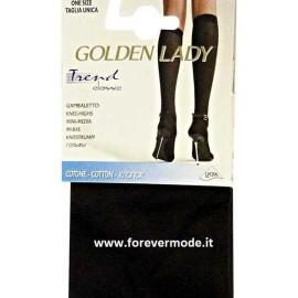 3 Paia Gambaletti donna Golden Lady in caldo cotone coprente