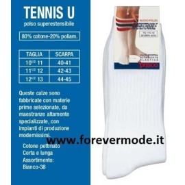 6 Calze uomo Prisco lunghe in cotone pettinato comfort sportivo