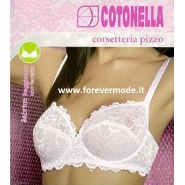 Reggiseno donna Cotonella con ferretto non imbottito tutto pizzo