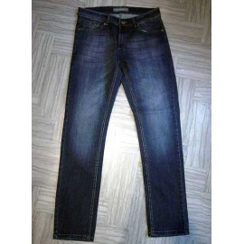 Jeans uomo Angel Devil elasticizzato con sbiaditure fronte retro