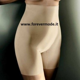 Guaina donna Gios in microfibra vita alta antisegno con gamba
