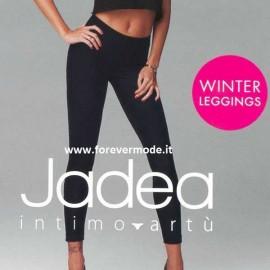 Leggings donna Jadea in caldo cotone felpato invernale pesante