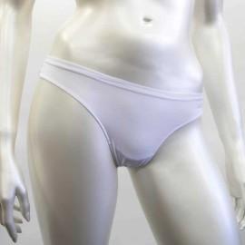 3 Slip brasiliana donna Kappa in cotone bi-elastico con elastici piatti comfort