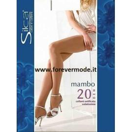 Collant donna Silca Mambo 20 opaco con corpino contenitivo