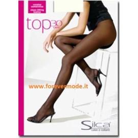 Collant donna Silca Top 30 linea effetto riducente a perizoma