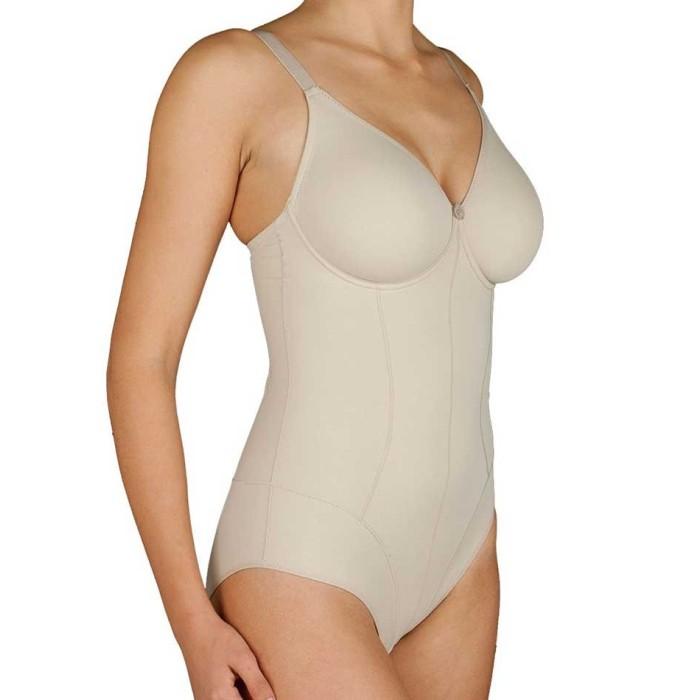 Body donna Selene modellante con ferretto non imbottito in microfibra