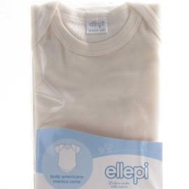 3 Body neonato bambino Ellepi manica corta americano in cotone garzato