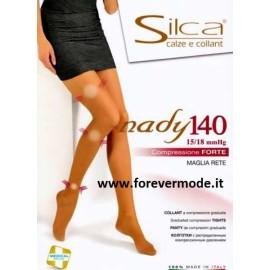 Collant donna Silca Nady 140 Compressione forte mmHG 15/18