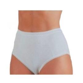 6 Slip culotte donna Lajole alte in cotone operato comfort a costina