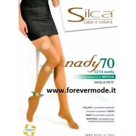 Collant donna Silca Nady 70 Compressione media mmHG 12/14