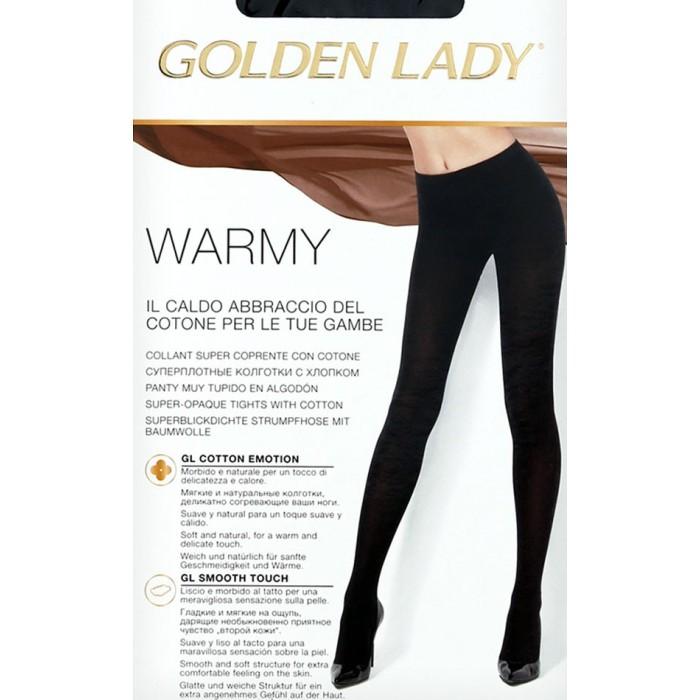9249759d4 Collant donna Golden Lady Warmy super coprente con cotone e lycra