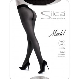 Collant donna Silca Model 70 coprente con compressione leggera mmHg 10