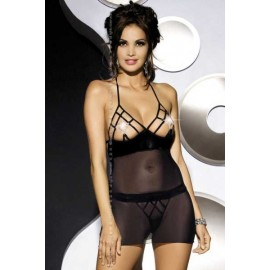 Sexy lingerie donna Obsessive, Crystal Chemise seducente