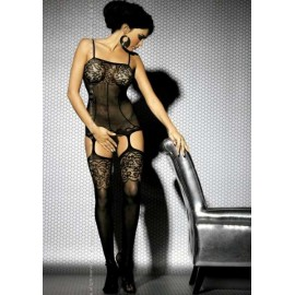 Sexy lingerie donna Obsessive, Bodystocking effetto guepiere