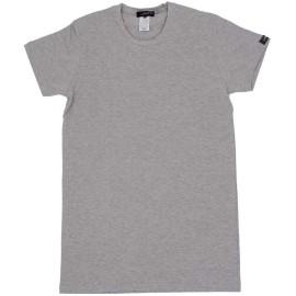 3 T-Shirt uomo Lancetti manica corta a girocollo in cotone bi-elastico aderente