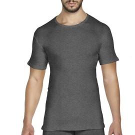 3 T-shirt uomo Pierre Cardin manica corta a girocollo in caldo cotone felpato soft