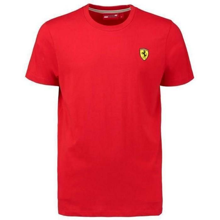 2019 Scuderia Ferrari T-shirt manica corta uomo ufficiale del Team