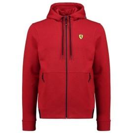 2019 Scuderia Ferrari Felpa ufficiale da uomo con cappuccio