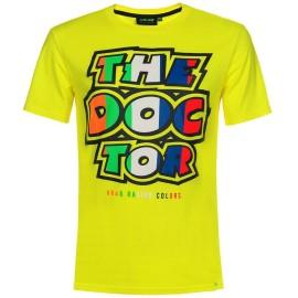 VR46 Valentino Rossi T-shirt manica corta 46 The Doctor da uomo