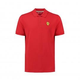 2019 Scuderia Ferrari Polo manica corta uomo ufficiale del Team