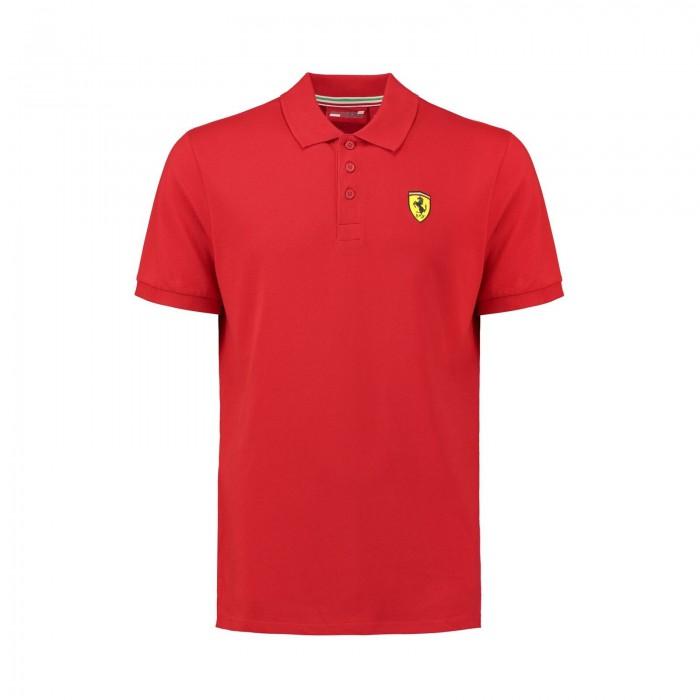 Scuderia Ferrari Polo manica corta da uomo ufficiale del Team