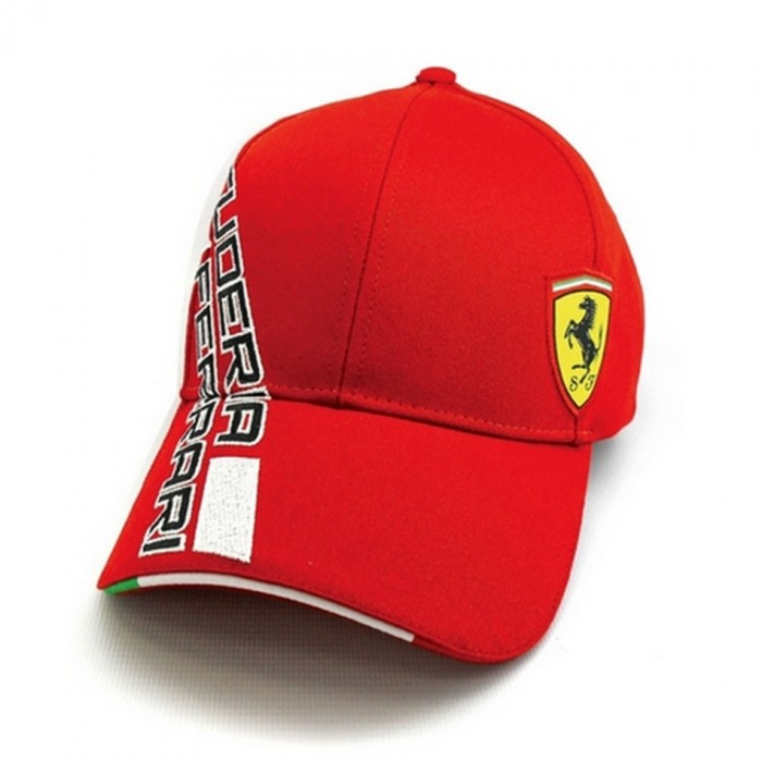 Cappellino Cappello Ferrari Cavallino Ufficiale squadra unisex rosso