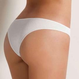 6 Slip brasiliana donna Cotonella vita bassa in cotone elasticizzato con elastici sottili