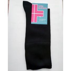 12 paia di calze uomo Elledi corte sanitarie lisce in caldo cotone con polsino comfort
