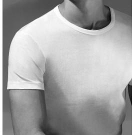 2 T-shirt uomo Ragno manica corta a girocollo in jersey di puro cotone