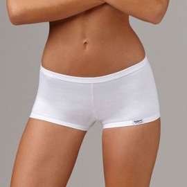 3 Boxerini donna Emy in cotone modal a vita bassa con elastici antisegno