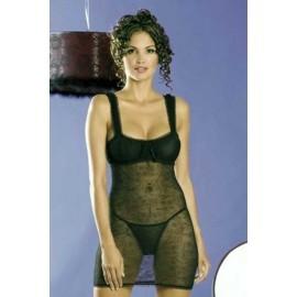 Sexy lingerie donna Obsessive,Mirell Chemise a motivi floreali