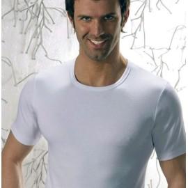 T-shirt uomo Club88 manica corta a girocollo in caldo cotone felpato