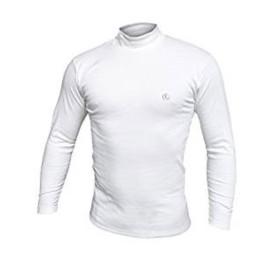 T-shirt uomo Navigare manica lunga con collo a lupetto in caldo cotone invernale